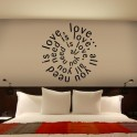 Vinilos decorativos All You Need Is Love