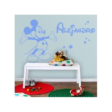 Vinilos decorativos con Nombre Alejandro
