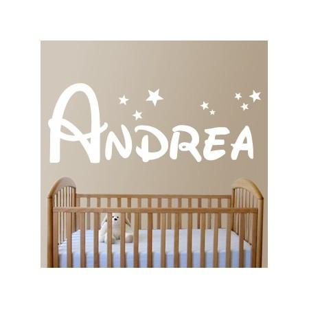 Vinilos decorativos Nombre Andrea