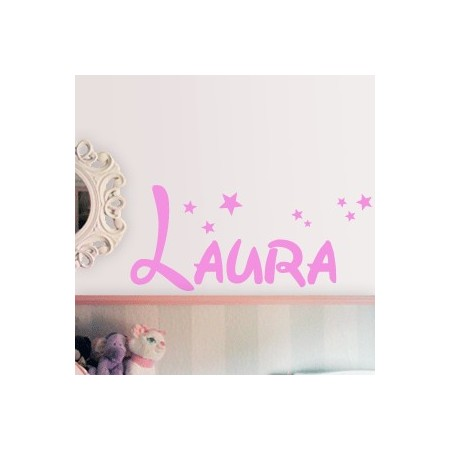 Vinilos decorativos Nombre Laura