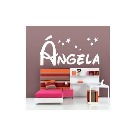 Vinilos decorativos Nombre Ángela