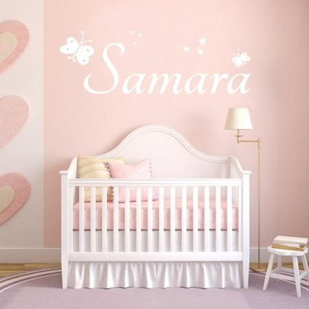 Vinilos decorativos Nombre Samara