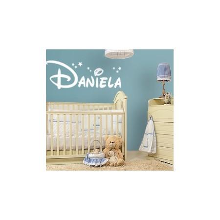 Vinilos decorativos con Nombre Daniela