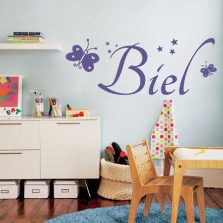 Vinilos decorativos Nombre Biel