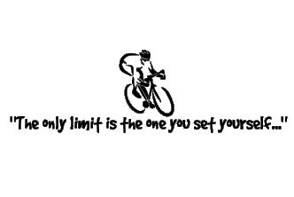 Vinilos Decorativos De Bicicleta Y Frase En Inglés De Motivación
